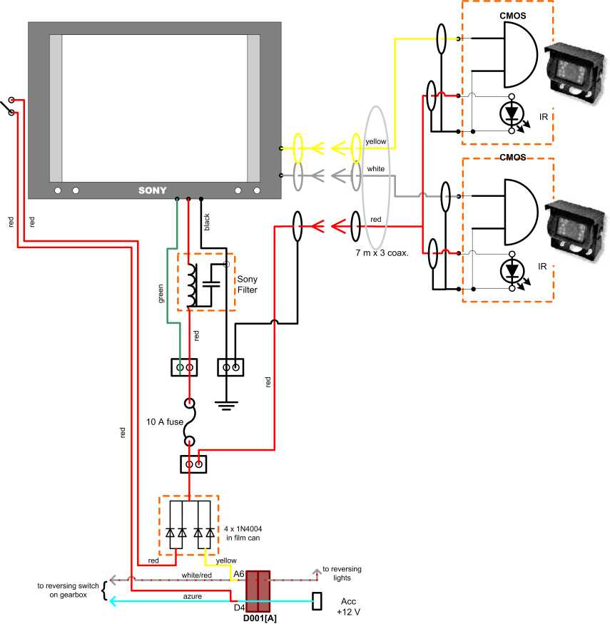 Enjoyable Wiring Diagram For Reversing Camera Wiring Diagram Wiring Digital Resources Aeocykbiperorg