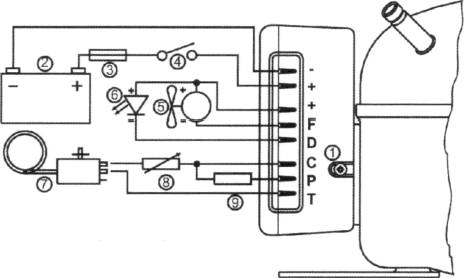 U V W Motor Wiring on wiring diagram of refrigerator compressor